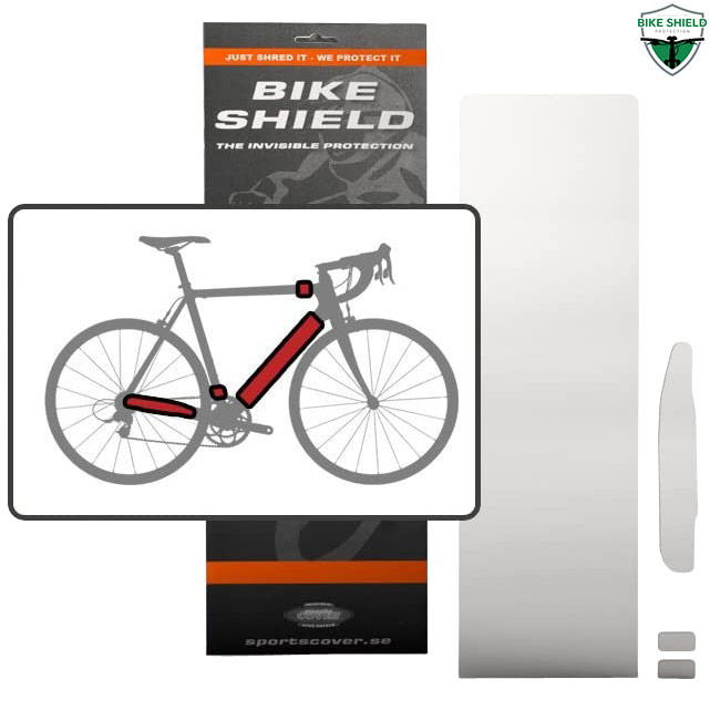 Bikeshield Frame Protection Film Half Pack