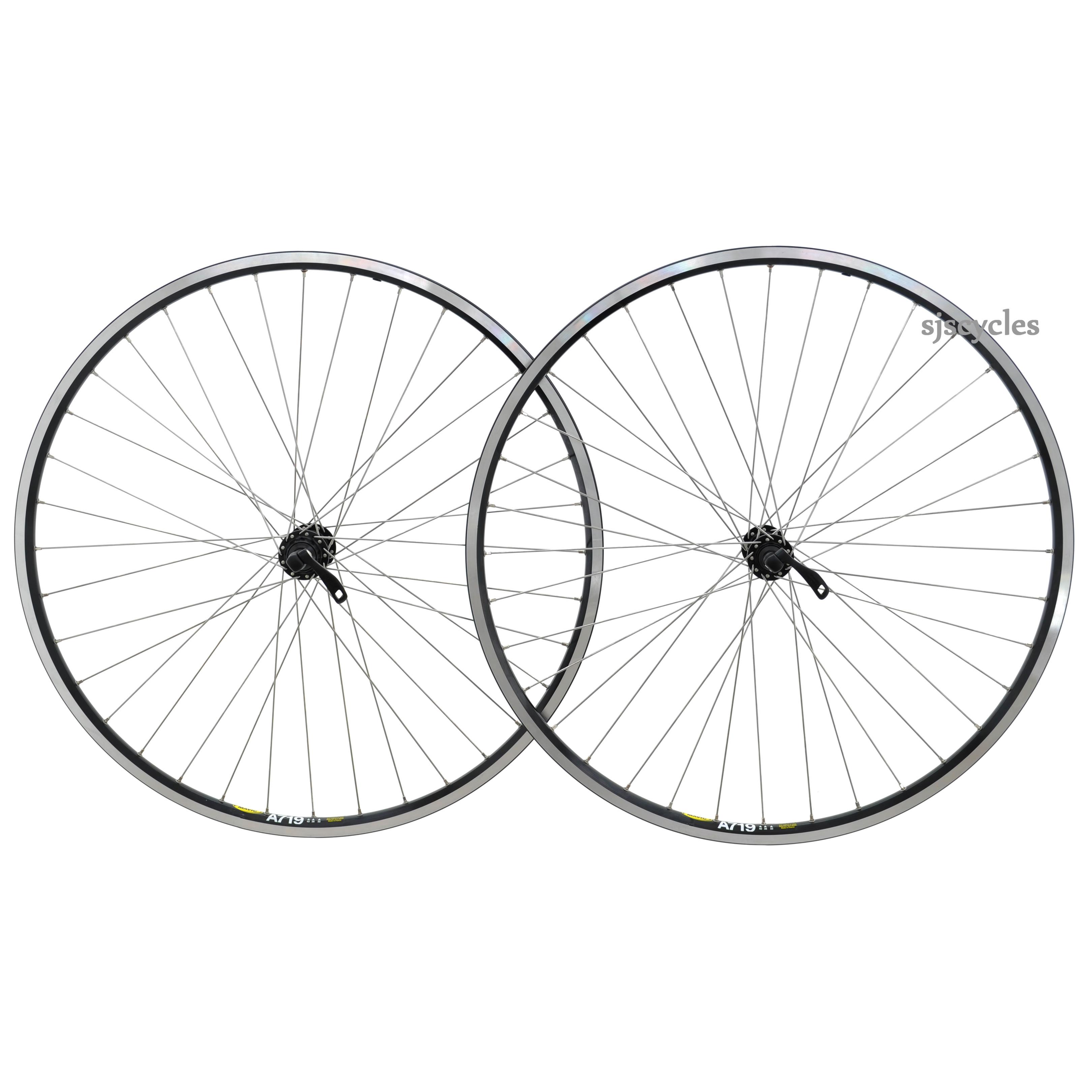 700c Front Wheel Road Bicycle Shimano XT /& Mavic A719 Rim Commuter//Touring Bike
