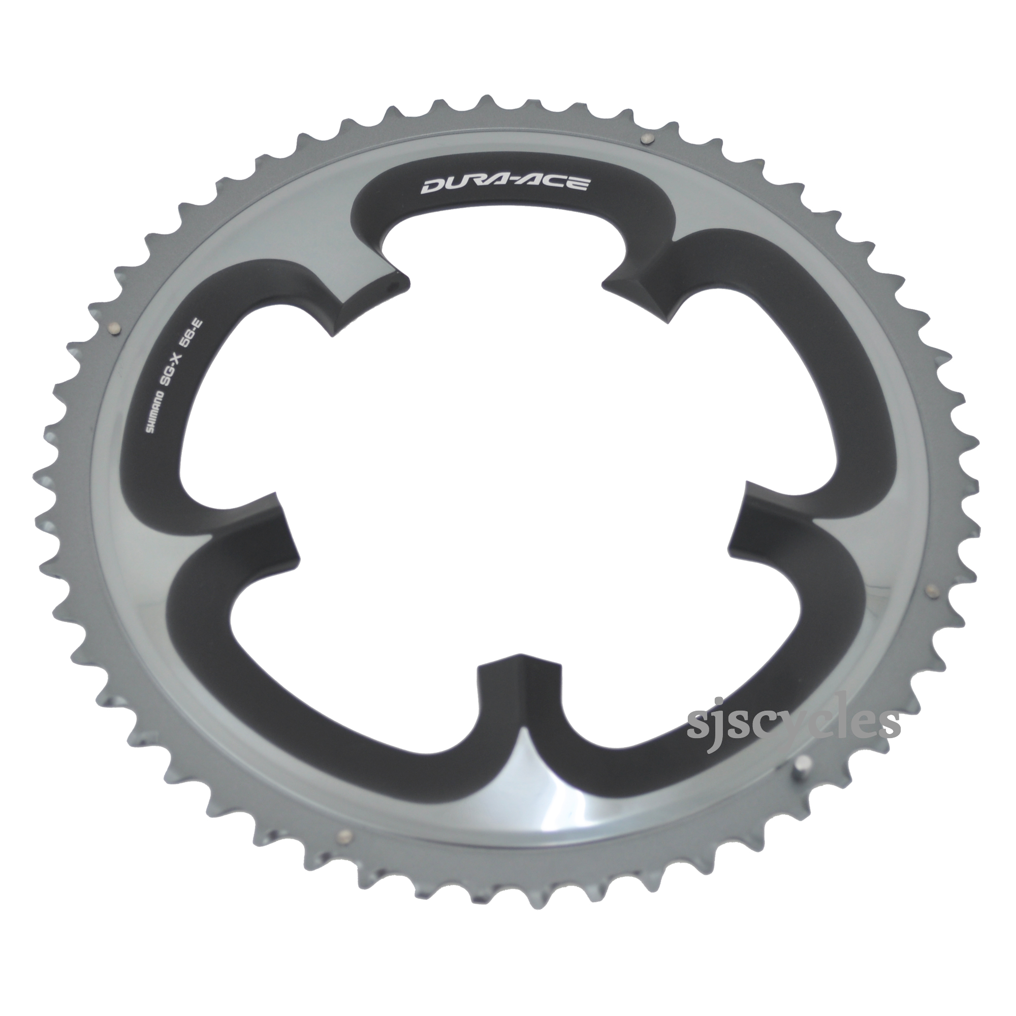 Shimano Dura-Ace FC-7900 Replacement Outer Chainring A-Type 130 BCD x 53T Black