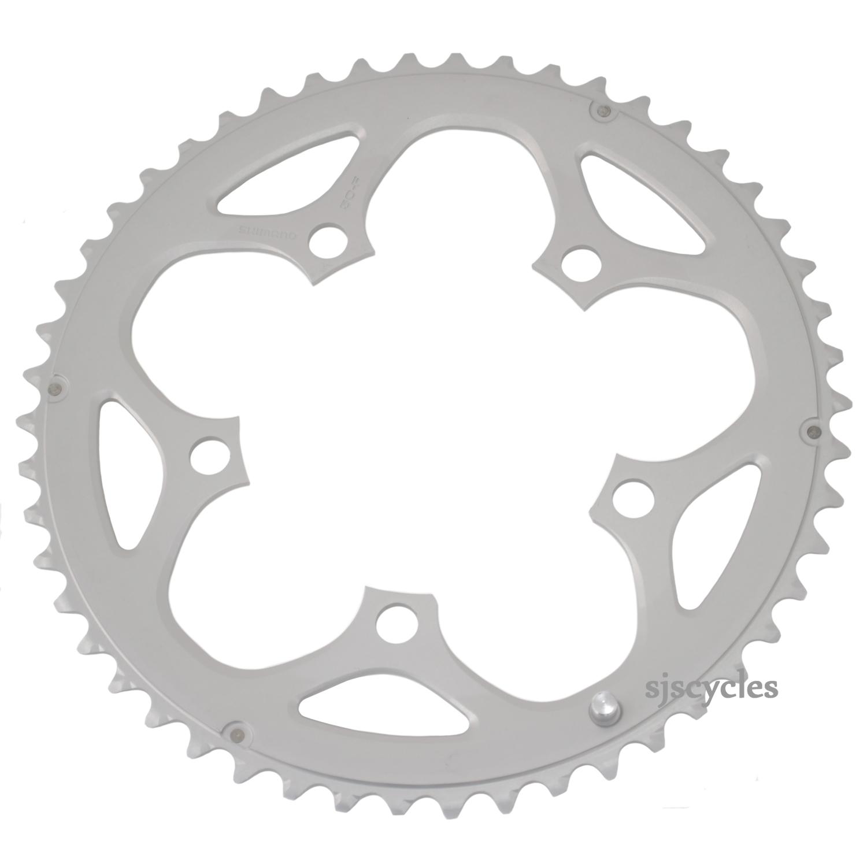 Shimano Tiagra 4550 50 T 110 mm 9-Vitesse Chainring Argent
