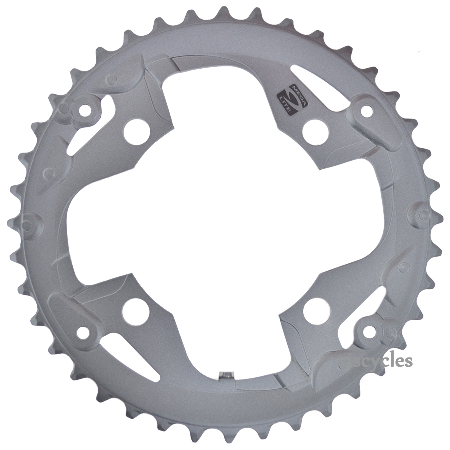 Shimano Alivio Fc M4000 96mm Bcd Outer Chainring Groupset 9 Speed View Supersize Image