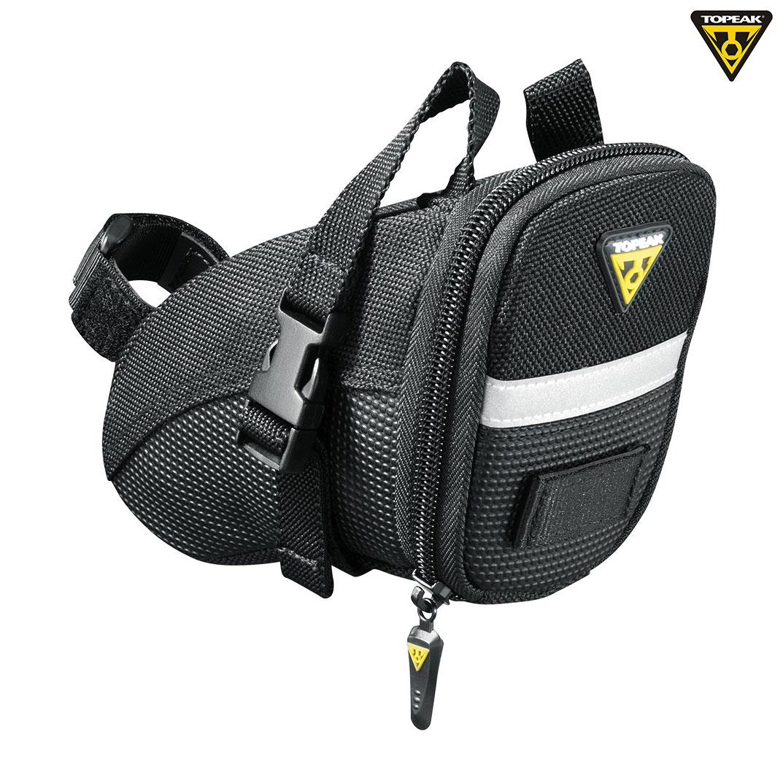 Saddle bag review: Topeak Aero Wedge Large | Coming thru!
