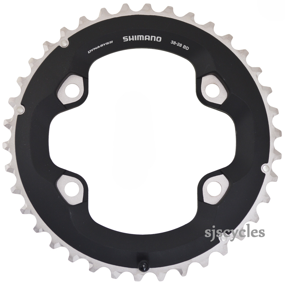 Shimano Chainring FC-M8000//B2 2x11 Outer 38T BC Composite//Alu UK Y1RL98090