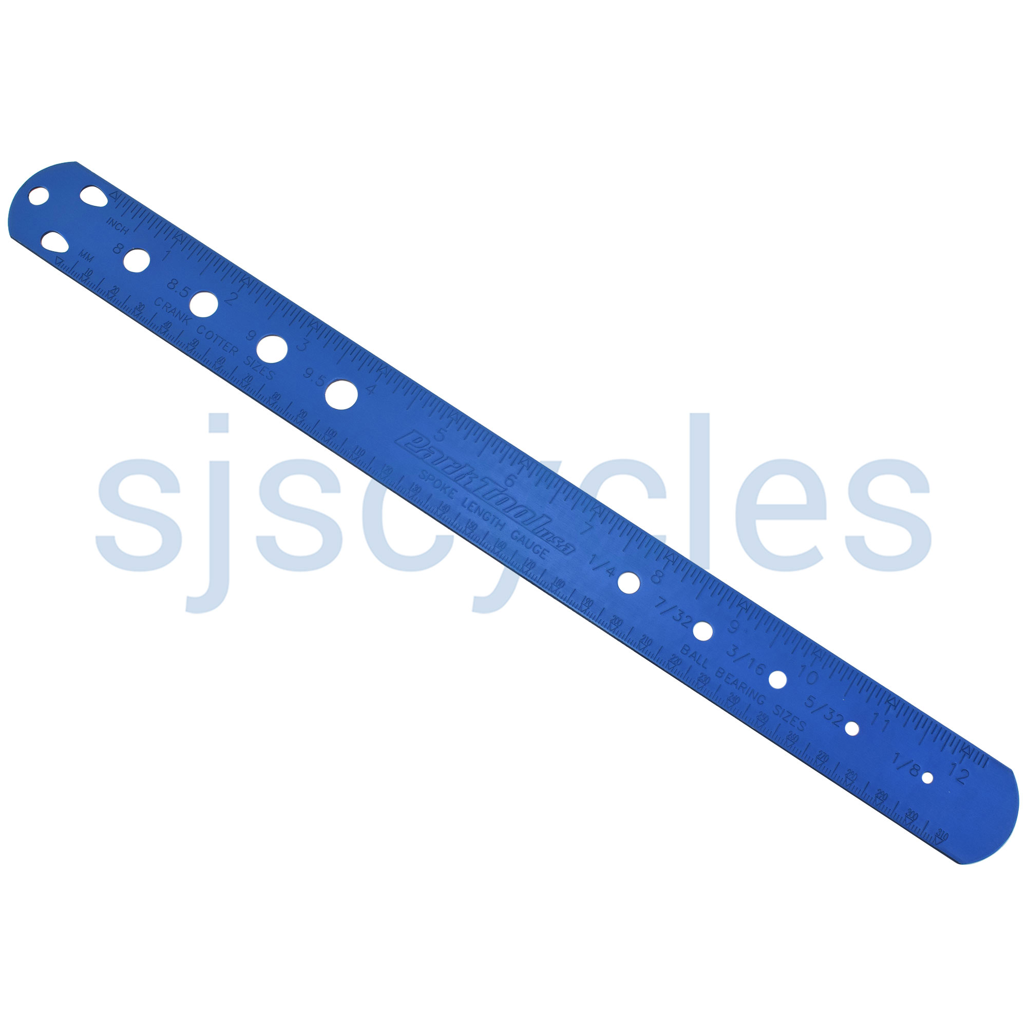 Park Tool SBC-1 Spoke, Bearing & Cotter Gauge